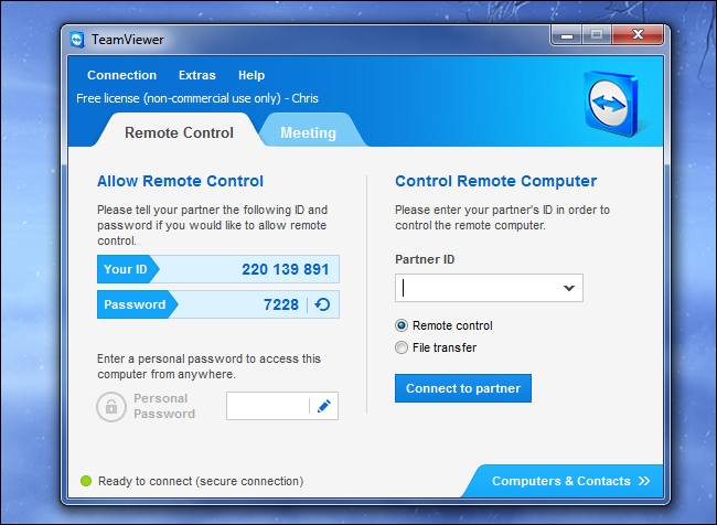 teamviewer-remote-access