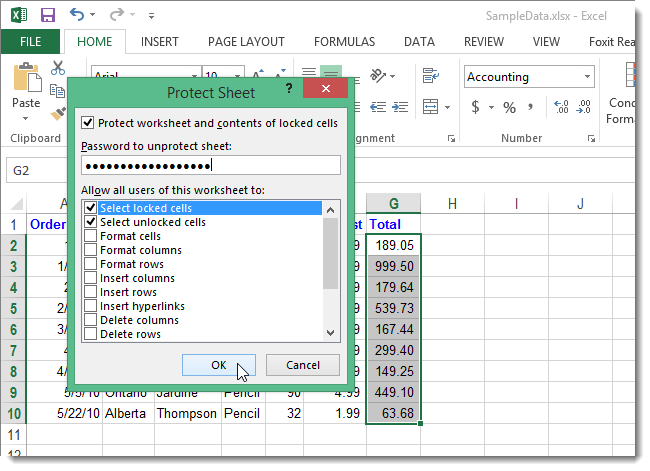 How To Show Formulas In Cells And Hide Formulas Completely In Excel 2013