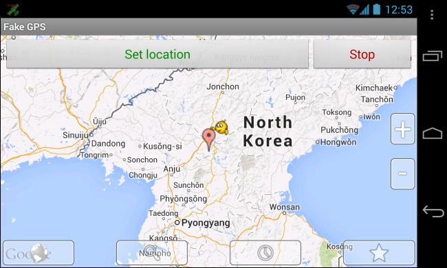 android-fake-mock-gps-location