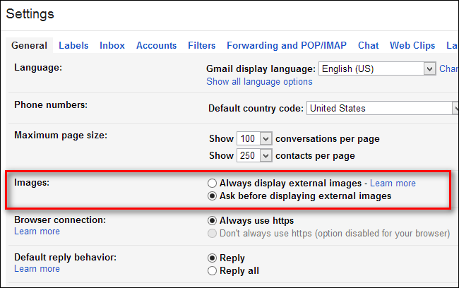 How to Turn Off Gmail's Automatic Image Loading for Increased Privacy and  Speedier Loading