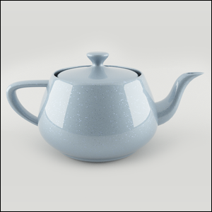 3D render of a teapot