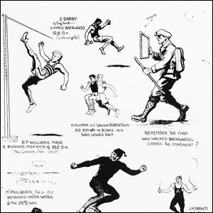 Early Ripley's Believe It or Not Illustration