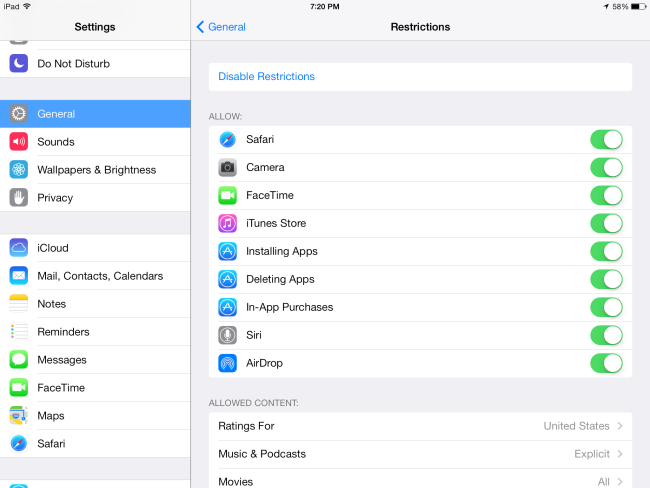 ipad-enable-restrictions