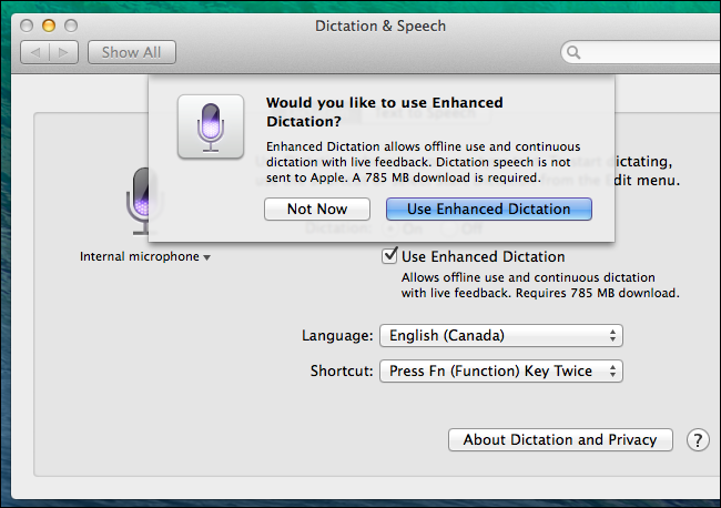 dictation and speech mac download