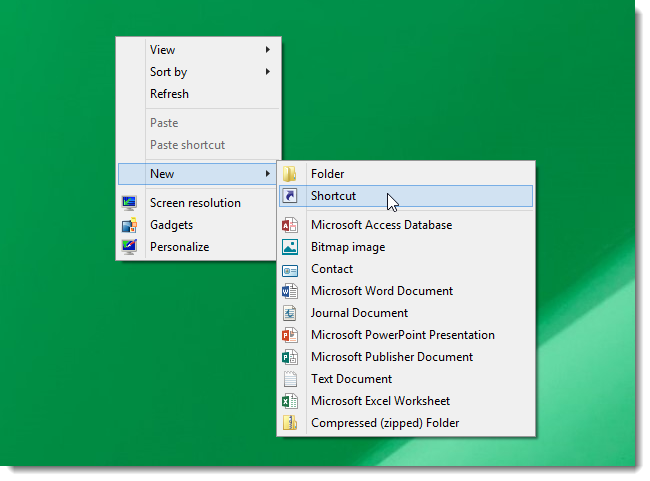 01_clicking_new_shortcut
