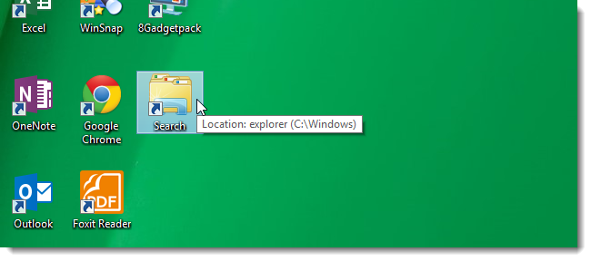04_search_shortcut_on_desktop