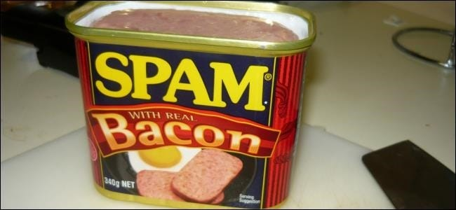 how to find spam webmail