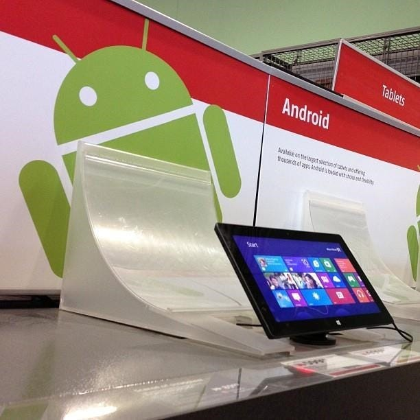 will android apps work on windows 8 this