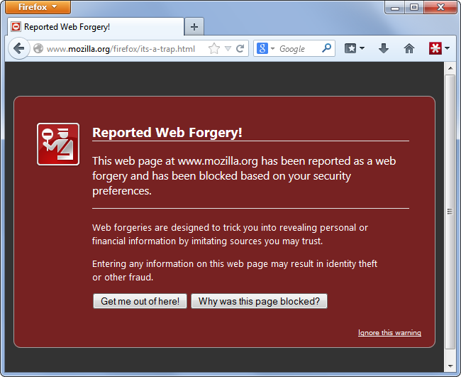 firefox-web-forgery-phishing-alert