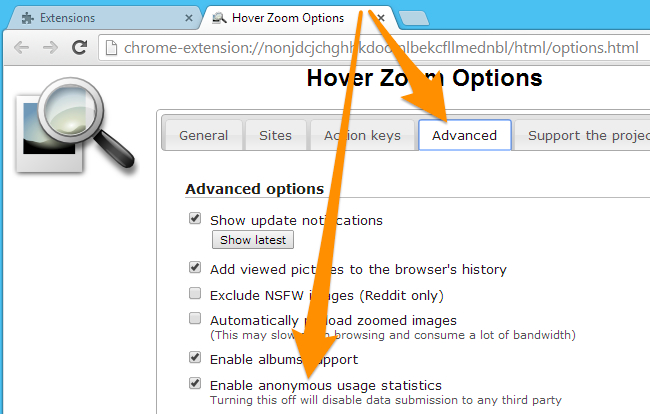 YSK that the Hover Zoom Extension is Spyware : YouShouldKnow