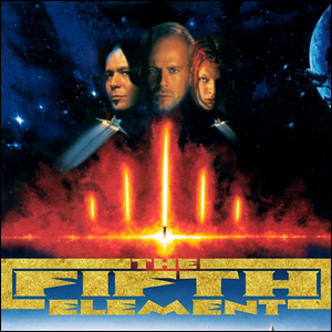 Movie poster for the film The Fifth Element