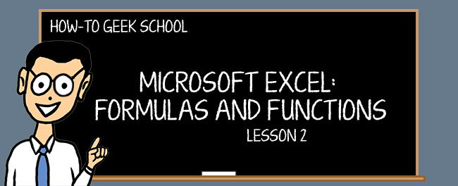 excel formulas defining and creating a formula