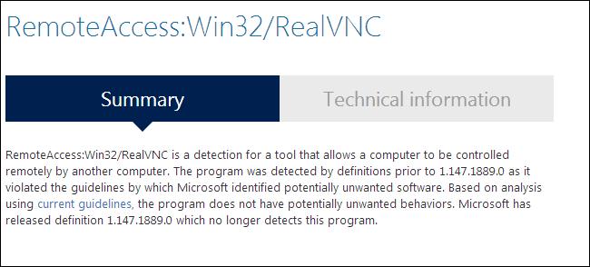 malware-database-false-positive