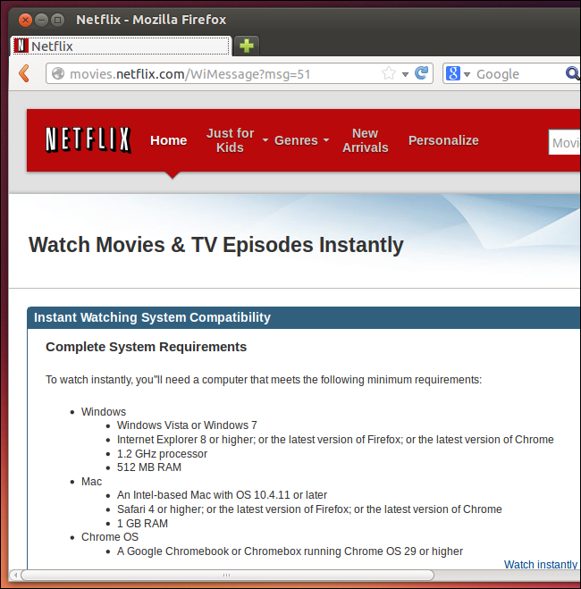 netflix-on-linux