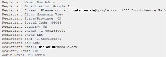 whois-records-for-google-with-email-addresses