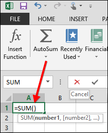 Excel Formulas: Defining and Creating a Formula
