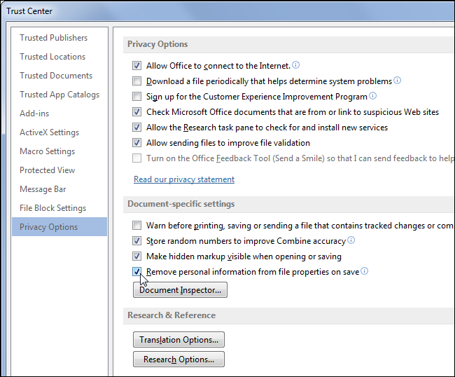 prevent-office-from-saving-metadata-in-documents