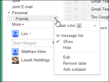 how to change the colour of gmail