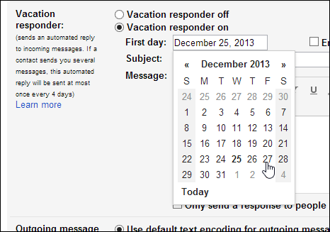 how to change date display on gmail