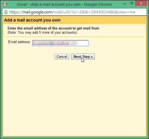 how to add other email accounts to gmail