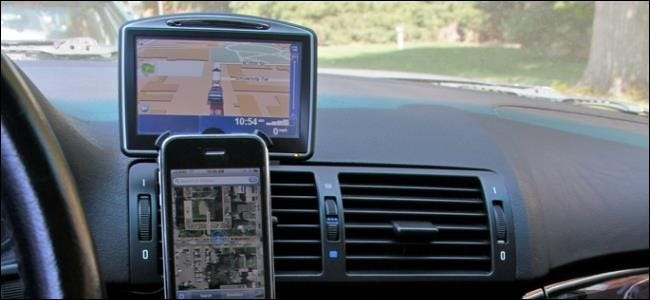 smartphone-gps-navigation-mount-in-car