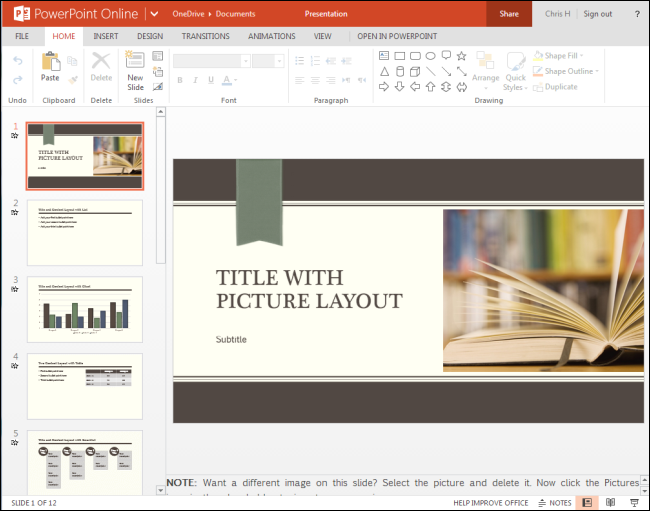 powerpoint online use for free