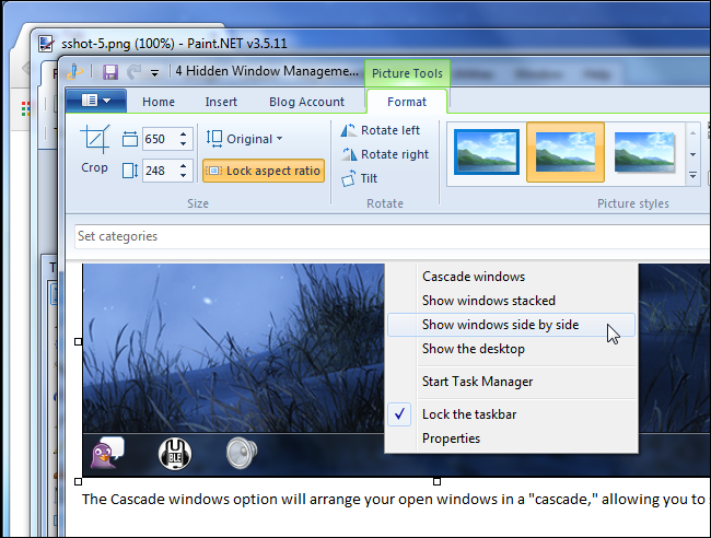 cascade-windows-from-taskbar
