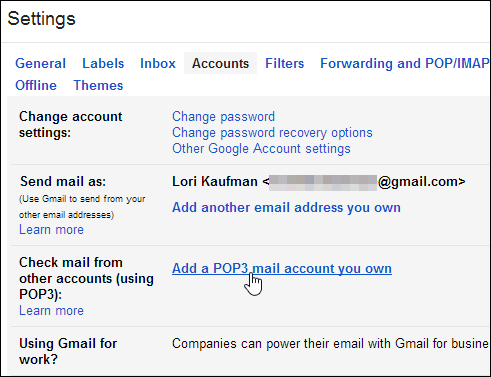 Gmail guide use your gmail account to access other accounts for Acc email