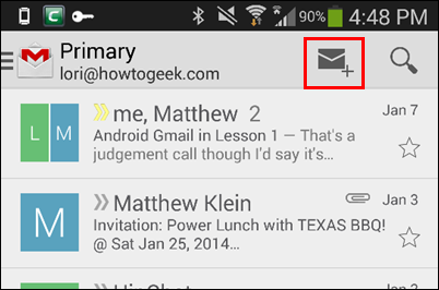 Gmail Guide: The Mobile App, Composing Mail, and Conversations
