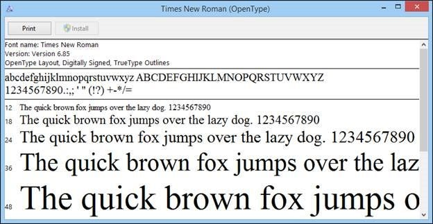 Word Formatting The Interface Fonts And Templates