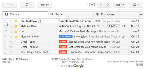 Gmail Guide: Getting to Know Gmail