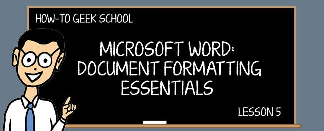 word formatting mastering styles and document themes