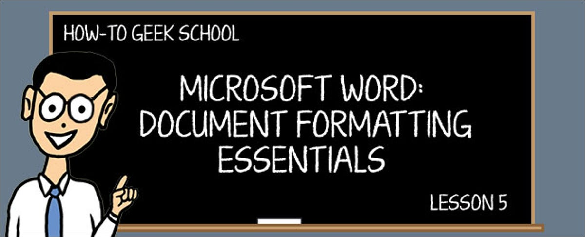Word Formatting 5