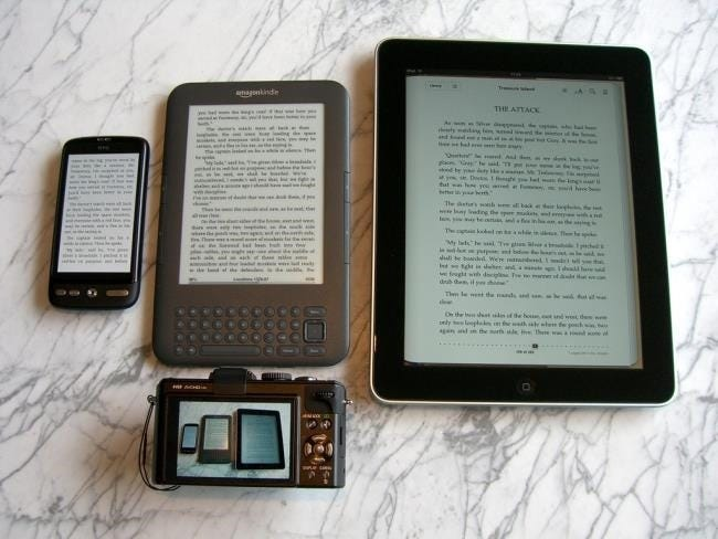E Ink vs  LCD: Which Screen is Best For Reading?