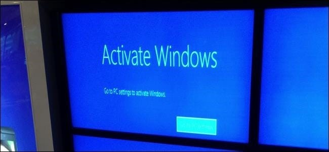 activate windows over telephone