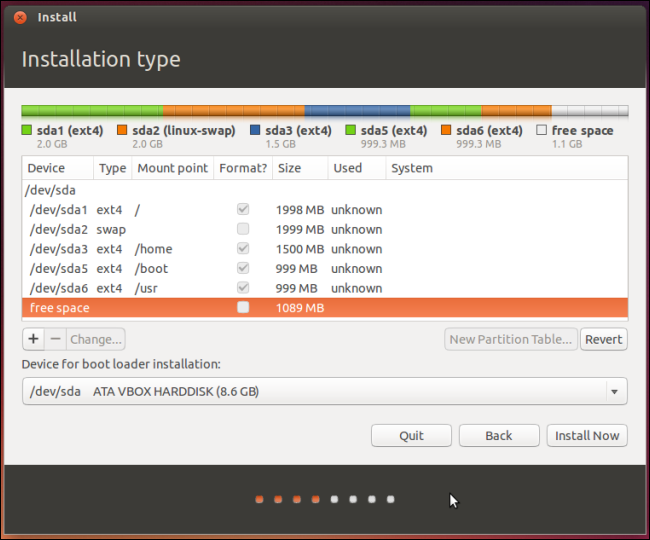 ubuntu-partitioning-installer