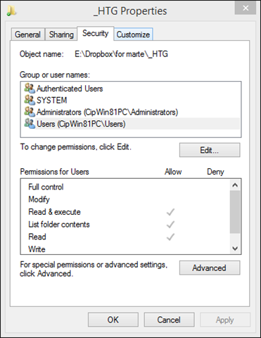 Windows Networking: User Accounts, Groups, Permissions