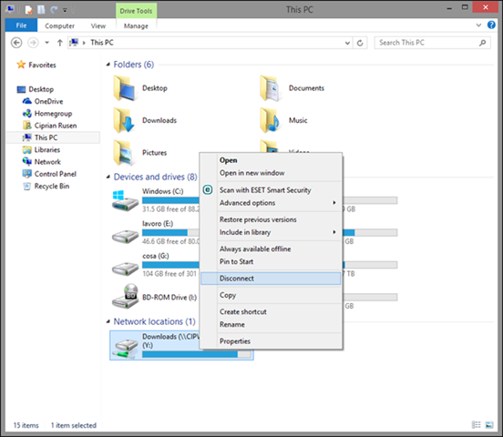 Windows Networking: How to Work With Network Drives ... on