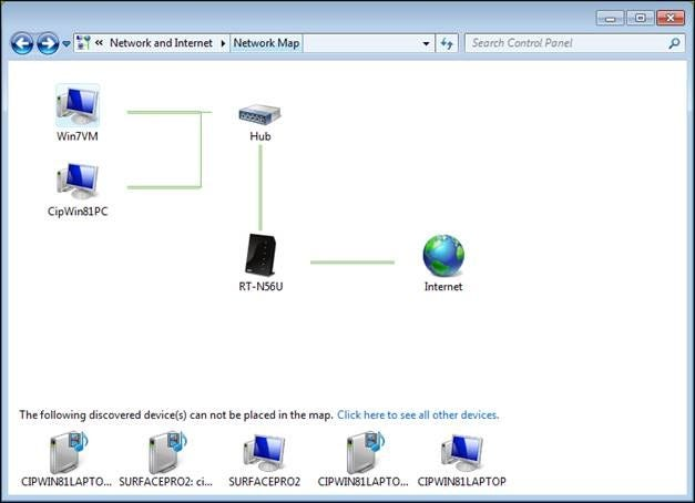 Windows Networking: How to View & Access What's Shared on ... on west africa map, world map, netgear router map, home evaluation, history map, basic parts of a map,