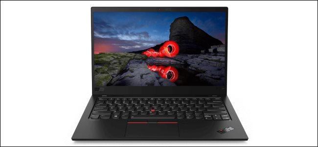 A Lenovo Thinkpad laptop