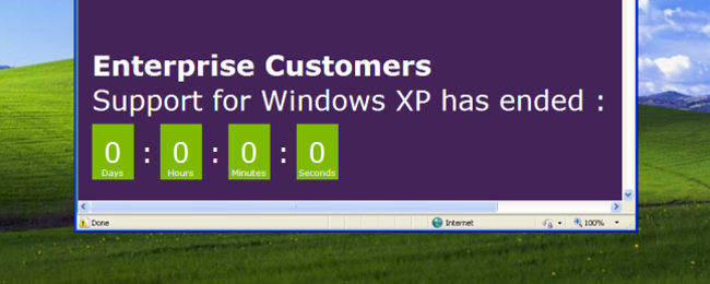 Microsoft is Still Making Security Updates for Windows XP, But You Can't Have Them
