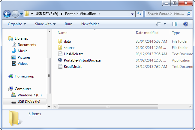 Use Portable VirtualBox to Take Virtual Machines With You