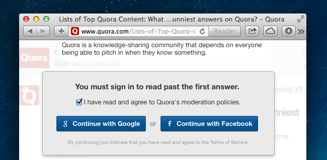 How to See All Answers on Quora and Bypass Their Obnoxious Login