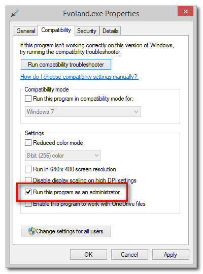 How to Set an Application to Always Run in Administrator Mode
