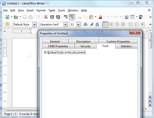 libreoffice-embed-fonts