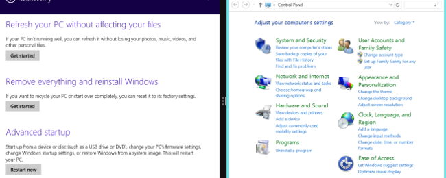 7 Windows Desktop Settings Only Available in PC Settings on Windows 8.1
