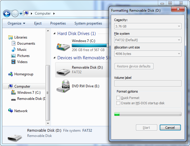 How to recover files hidden by a virus on a Memory Card or Flash Drive
