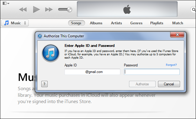 How to deactivate itunes on a computer