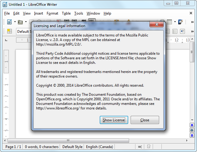 libreoffice-license