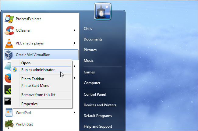 run-virtualbox-as-administrator-on-windows
